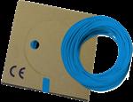 Billede af Monteringsledning lyseblå PVT H05V-K: 0,5-0,75-1,0 mm² H07V-K: 1,5-2,5-4,0-6,0-10-16 mm²