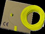 Billede af Monteringsledning gul/grøn PVT H05V-K: 0,5-0,75-1,0 mm² H07V-K: 1,5-2,5-4,0-6,0-10-16 mm²