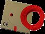 Billede af Monteringsledning rød PVT H05V-K: 0,5-0,75-1,0 mm² H07V-K: 1,5-2,5-4,0-6,0-10-16 mm²