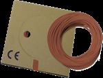 Billede af Monteringsledning brun PVT H05V-K: 0,5-0,75-1,0 mm² H07V-K: 1,5-2,5-4,0-6,0-10-16 mm²