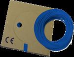 Billede af Monteringsledning mørkeblå PVT H05V-K: 0,5-0,75-1,0 mm² H07V-K: 1,5-2,5-4,0-6,0-10-16 mm²