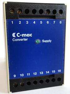 Billede af Brugt signalkonverter - fabrikat C-mac type MC10-024-7A-3