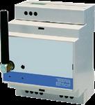 Billede af GSM alarm og fjernstyring til DIN skinne montering