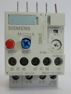 Billede af Nyt Siemens termorelæ - Type: 3RU1116-0CB0 - indstillingsområde: 0,18 - 0,25 Amp