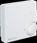 Billede af Rumtemperaturføler NTC 10k Precon, med passiv potentiometer og trykknap/taster - IP30