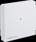 Billede af Rumtemperaturføler NTC 10k Precon, grøn LED og trykknap/taster - IP30