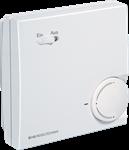 Billede af Rumtemperaturføler NTC 10k Precon, med passiv potentiometer og vippekontakt - IP30