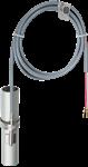 Billede af Ni1000-TK5000 påspændingsføler til rør. Med PVC kabel og spændebånd. Måleområde: -35...+105°C