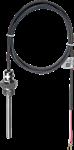 Billede af PT100 Dykrørstemperaturføler med udskiftelig passiv kabelføler - 50mm - IP65