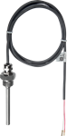 Billede af NTC 50k Dykrørstemperaturføler med udskiftelig passiv kabelføler - 100mm - IP65