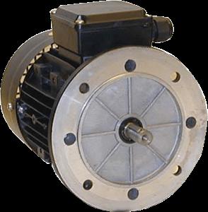 Billede af Elmotor 745 rpm, 160kW | 218hk, B5 stor flange, 3 faset