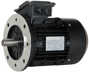 Billede af Elmotor 995 rpm, 200kW | 272hk, B5 stor flange, 3 faset