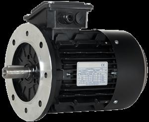 Billede af Elmotor 1490 rpm, 200kW | 272hk, B5 stor flange, 3 faset, IE3
