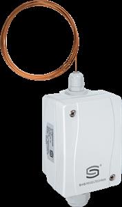 Elektronisk Frosttermostat IP65, Indstilling 0...15 °C. Føler 6,0m | 2 X 10V Og 1 X Omskifter