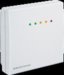 VOC luftkvalitetsføler med LED til måling af luftkvaliteten i rum. IP30 Med udgangsrelæ / grænseværdi