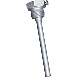 Billede af Dykrør | følerlomme | rustfri stål | ø6,5mm indvendig | længde 250mm