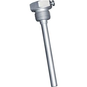 Billede af Dykrør | følerlomme | rustfri stål | ø6,5mm indvendig | længde 350mm