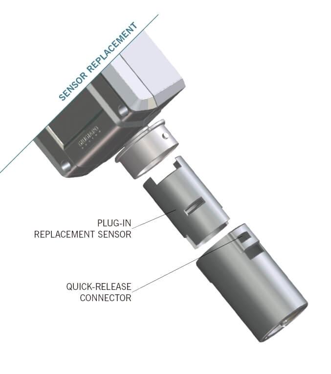 Billede af Detektor | CL2 | Klor | Chlor | Måleområde 0-10ppm | 3 relæ udgange og 1 alarmudgang | 4-20mA