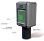 Billede af Detektor | H2S | Svovlbrinte Måleområde 0-100 ppm | 3 relæ udgange og 1 alarmudgang | 4-20mA