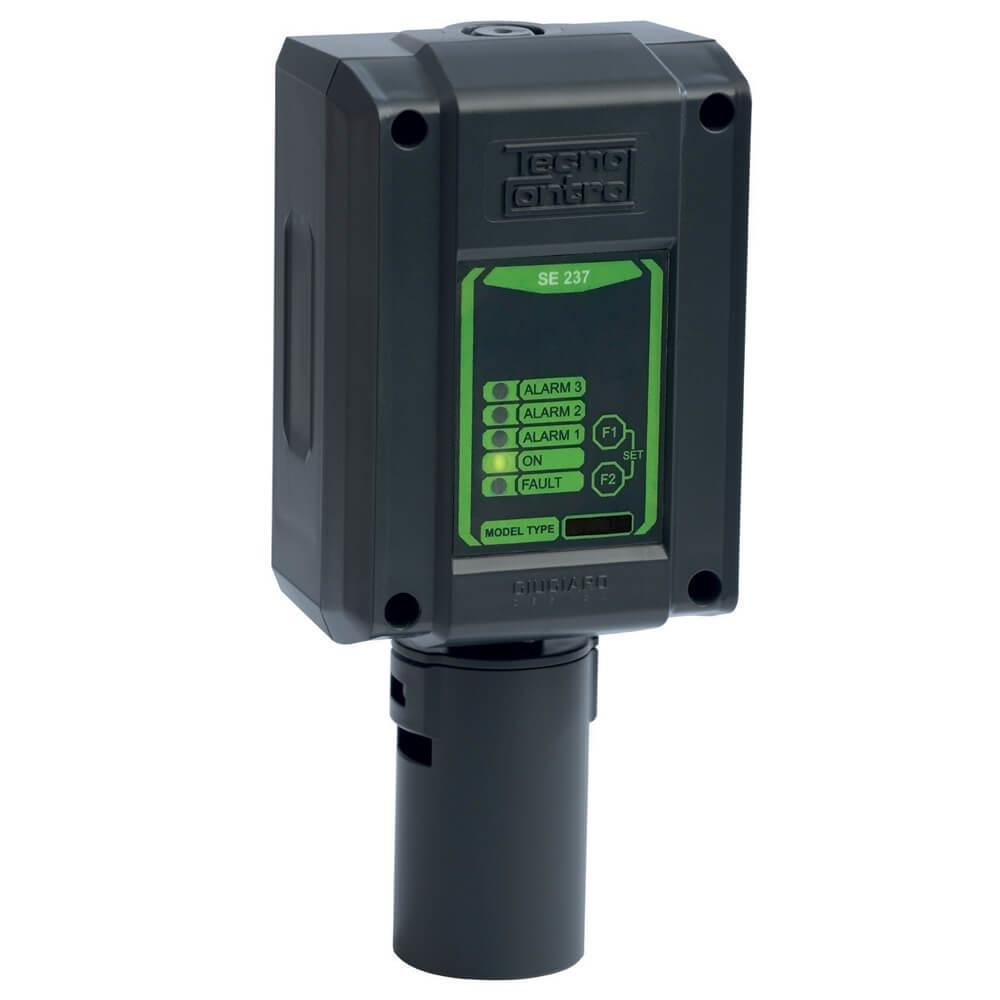 Billede af Detektor til måling af benzin dampe | Måleområde 0-100% LEL | 3 relæ udgange og 1 alarm udgang | 4-20mA