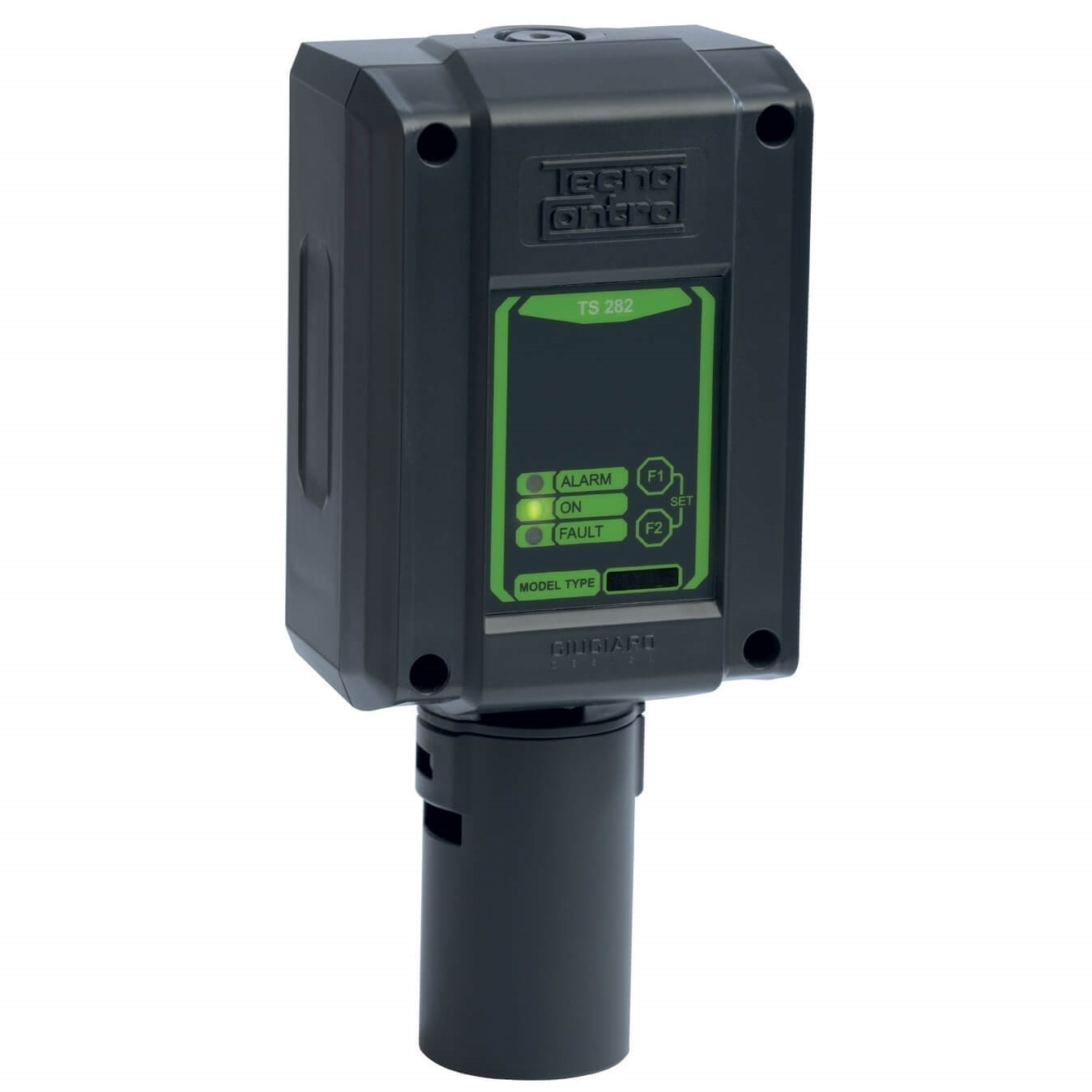Billede af Detektor | HCN | Blåsyre | Hydrogencyanid | Måleområde 0-10 ppm | 4-20mA udgangssignal