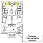 Billede af Modbus RTU kommunikationsmodul passende til gascentral CE424p