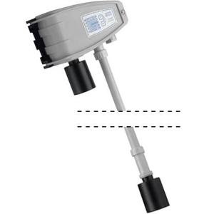 Billede af Gasdetektor til Parkeringskælder | Parkerings ventilation. Kombi til måling af CO og NO2 (NOx)