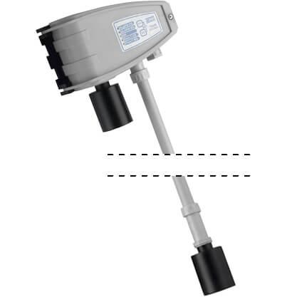 Billede af Gasdetektor til Parkeringskælder | Parkerings ventilation | Kombi til måling af CO og Benzin dampe.