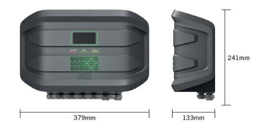 Billede af Gas central CE424p til 4-24 målinger.