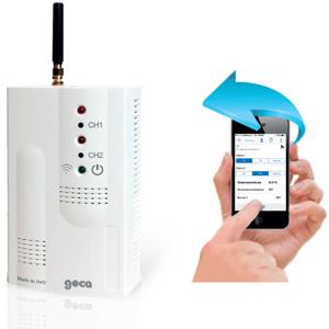 Billede af GSM | Alarm | Fjernstyring | 3 indgange | 2 Relæ udgange | Intern/Extern temperatur sensor