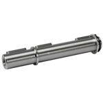 Billede af Enkelt udgående aksel 24 mm til snekkegear SB050