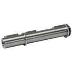 Billede af Enkelt udgående aksel 28 mm til snekkegear SB075