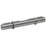 Billede af Dobbelt udgående aksel 28 mm til snekkegear SB063