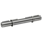 Billede af Dobbelt udgående aksel 28 mm til snekkegear SB075