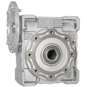 Billede af Snekkegear SB130 udveksling 25:1. Motorflange 100/112B5. Udgangsside hulaksel 45 mm