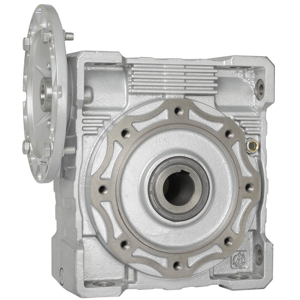 Billede af Snekkegear SB130 udveksling 40:1. Motorflange 100/112B5. Udgangsside hulaksel 45 mm