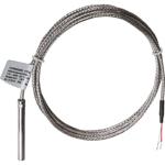 Billede af PT100 Kabelføler ø6x50mm Måleområde: -50...+350 °C | 1,5m kabel