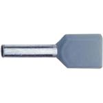 Billede af Dobbelt terminalrør 2x0,75mm² grå