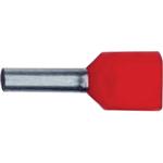 Billede af Dobbelt terminalrør 2x1mm² rød