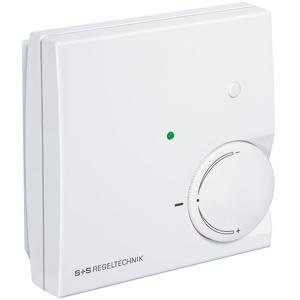 Billede af PT1000 Rumtemperaturføler, potentiometer, grøn LED og trykknap