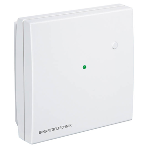 Billede af PT1000 Rumtemperaturføler, grøn LED og trykknap