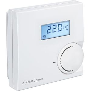 Billede af 0-10V Rumtemperaturføler, potentiometer og display