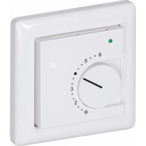 Billede af Rumføler plan forsænket   potentiometer   grøn lysdiode   trykknap