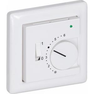 Billede af Rumføler plan forsænket   potentiometer   grøn lysdiode   vippeknap