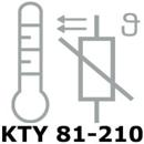 Billede til varegruppe KTY 81-210 TEMPERATUR-FØLER