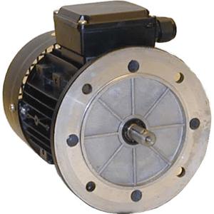 Billede af Elmotor 2730 rpm, 0,12kW | 0,16hk, B5 stor flange, 3 faset