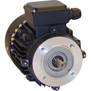 Billede af Elmotor 895 rpm, 0,12kW   0,16hk, B14 lille flange, 3 faset