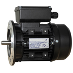 Billede af Elmotor 2770 rpm, lavt startmoment 0,12kW | 0,16hk, B5 stor flange, 1 faset 230V
