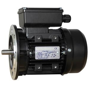 Billede af Elmotor 2760 rpm, lavt startmoment 0,18kW   0,24hk, B5 stor flange, 1 faset 230V