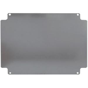 Billede af 150x120 mm bundplade   montageplade til monteringskasse